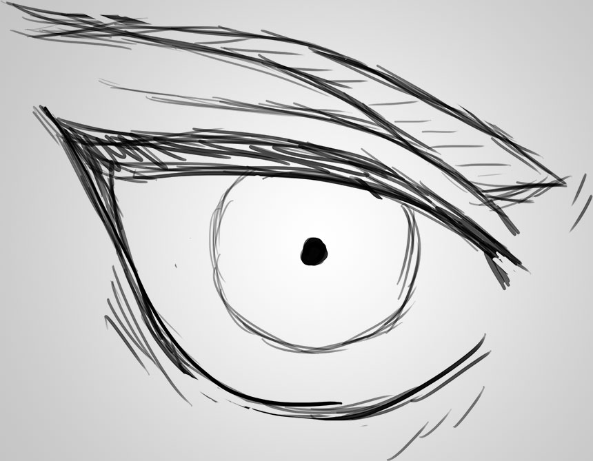 Drawing Anime Eyes – Part 1: The Eren Yeager Eye